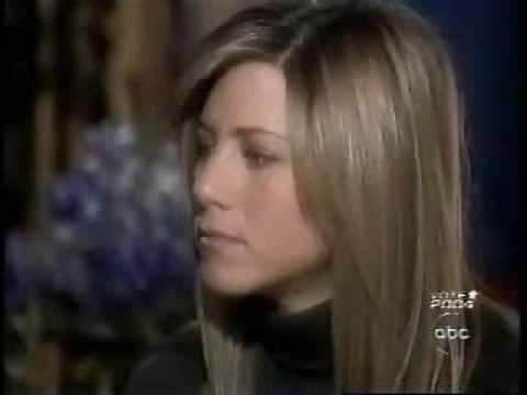 Jennifer Aniston Interview With Diane Sawyer  Part 2 -  Primetime