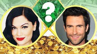 WHO'S RICHER? - Jessie J or Adam Levine? - Net Worth Revealed! (2017)