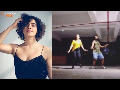 VIRAL: Dangal Girl Sanya Malhotra DANCE Moves With Choreographer Shazeb Sheikh | Bollywood Live thumbnail