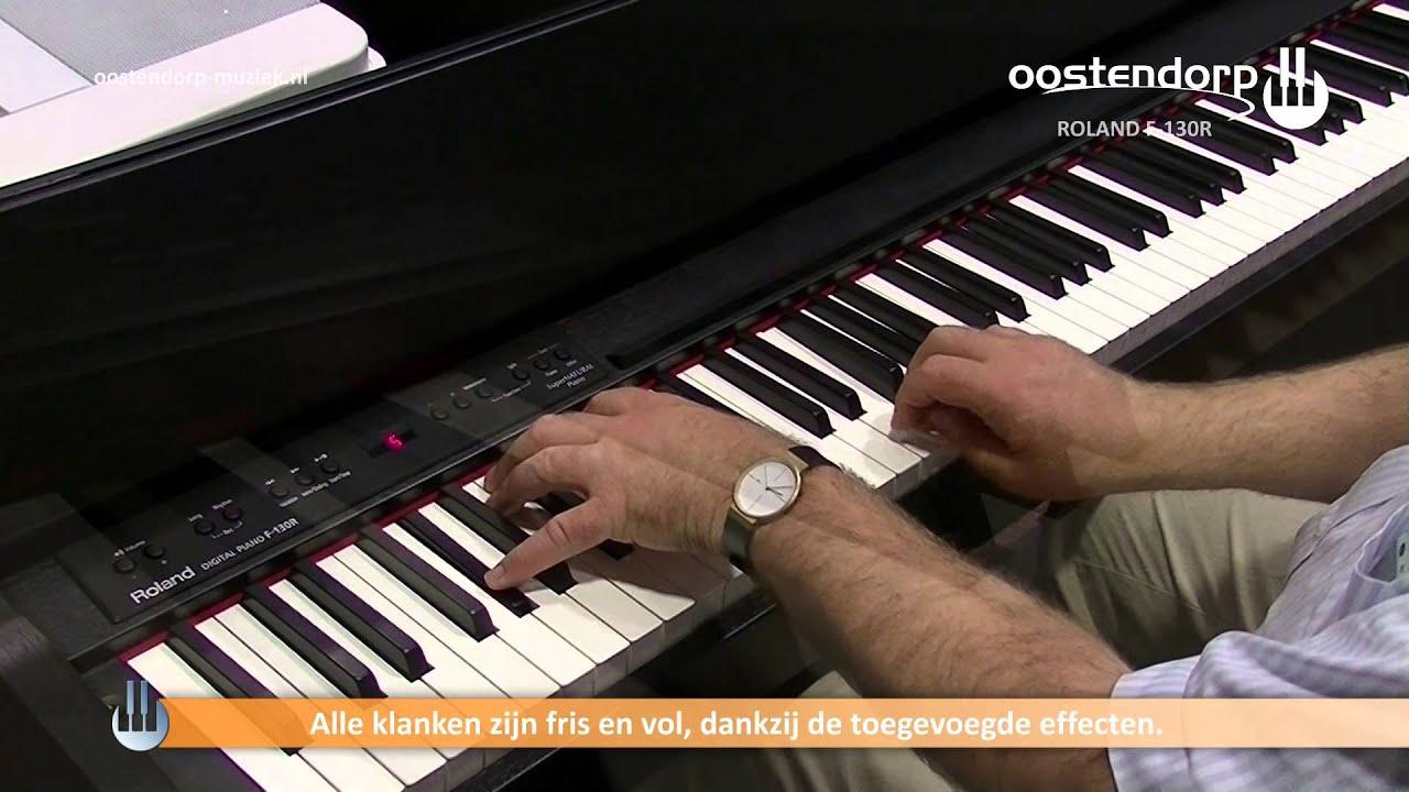 Roland Piano Digitale Roland F-130r Digitale Piano