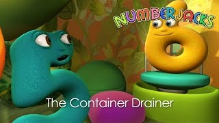 NUMBERJACKS | The Container Drainer | S1E20