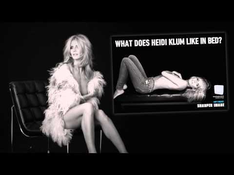 Heidi Klum For Sharper Image video
