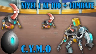 Monster Legends - C.Y.M.O (Nivel 1 al 100) + Combate