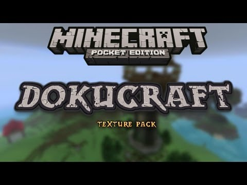 Dokucraft Texture Pack MCPE 0.8.1