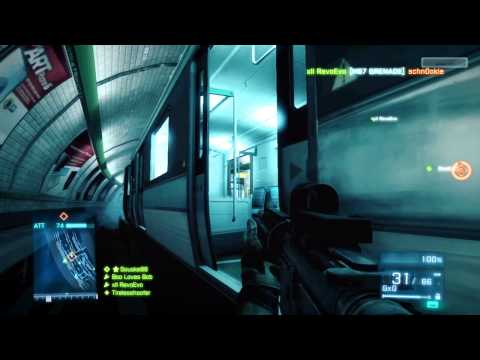 Tearing up the Metro | How to Attack Operation Metro - Battlefield 3 Beta