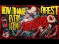 How To Craft EVERY ITEM In The Forest Read Description mp3