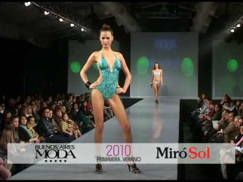 Desfile Miro Sol Nueva Coleccion Trajes de Baño Bikinis Swimwear  Mallas Swimsuits Ropa Deportiva