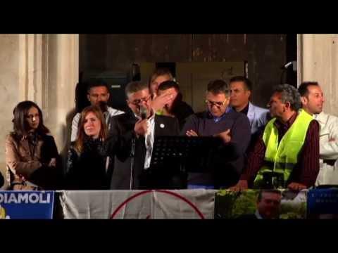 Comizio elettorale Movimento 5 Stelle – Modugno 24/05/2013