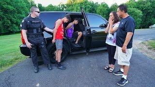 POLICE PRANK ON PARENTS! (mom cries)