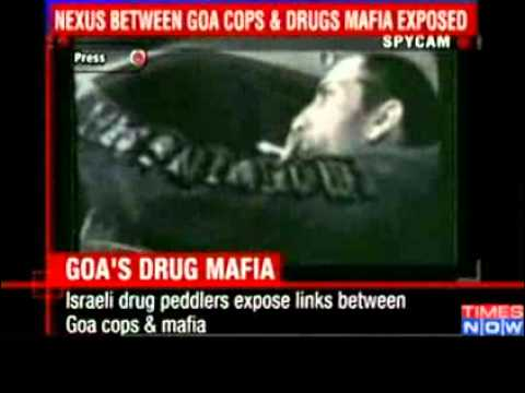 Exposed  Goa cops-drug mafia link - Video   The Times of India...