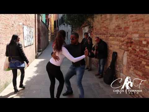 Carlos and Fernanda Dancando um Sambinha em Veneza, Italia