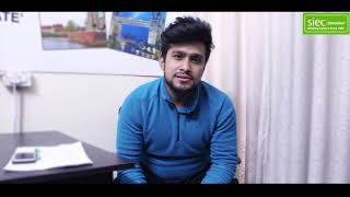 Abhay got his student visa for Singapore | Study in Singapore