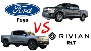 Ford F150 vs Rivian R1T: How do they stack up?