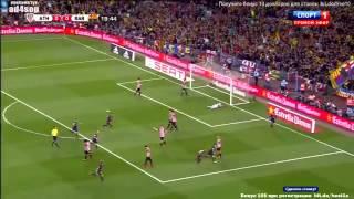 Чудо гол Месси в ворота Атлетика Бильбао 30.05.2015