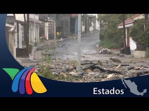 Severas afectaciones por intensas lluvias en Monterrey | Noticias de Nuevo León