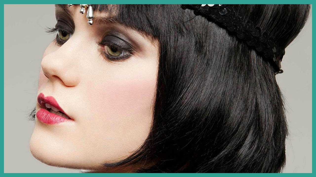 Great gatsby 1920 s inspired hair and makeup youtube