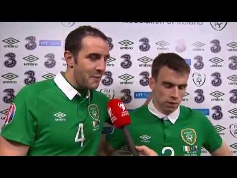Republic of Ireland v Bosnia and Herzegovina - Post Match Interviews - O'Shea and Coleman (16/11/15)