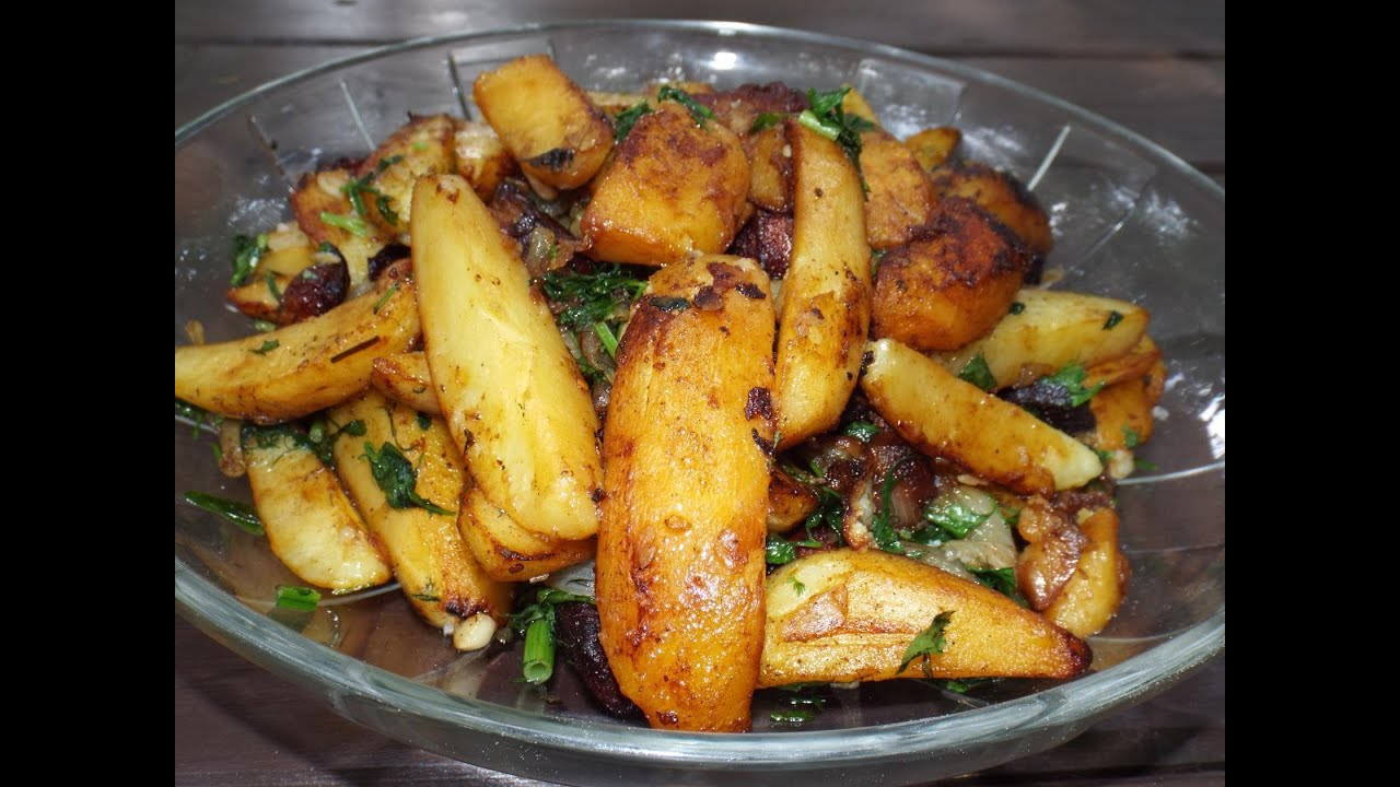 Жаркое из свиных ребрышек с картошкой в казане рецепт