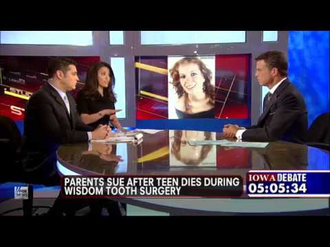Teen death during dental surgery - Fox News December 15, 2011