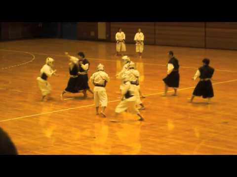 日本体育大学の少林寺拳法—Nippon Sport Science University—Shorinji Kempo Image 1