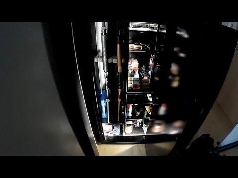 Oświetlenie LED  szafy na broń