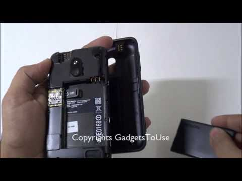 Nokia Lumia 620 - Guide To Remove Back Cover. Insert Sim Card and Apply Back Cover on Device