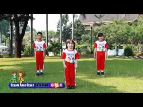 Senam Sehat Ceria Anak Sakatonik Abc 2015 Lucu Banget, Pesertanya Bikin.....  :) video