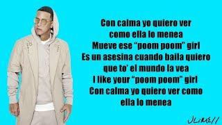 Daddy Yankee Snow Con Calma Letra