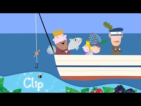 Ben and Holly's Little Kingdom - Fishing For Dinner