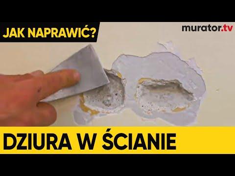 Dziury W ścianie, Uszkodzona ściana - Pokazujemy Jak Ją Naprawić - DOMOWE SOS