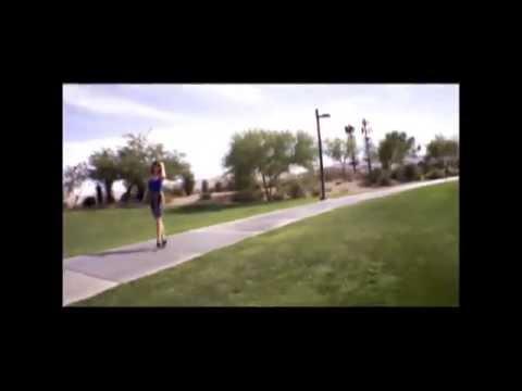 Drone Production of Angela wearing Dawson Heels ; 60 sec version