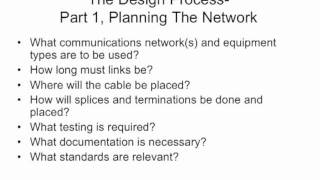 FOA Lecture 9_ Fiber Optic Network Design, Part 1