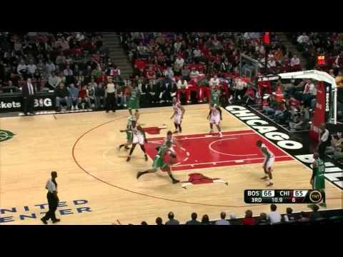 Luol Deng seasons highs 26 points 4 steals vs Boston Celtics full highlights 05.04.2012