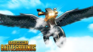 Motorcycle with WINGS..!! | Best PUBG Moments and Funny Highlights - Ep.173