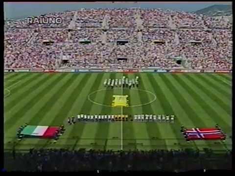 ITALIA-Norvegia 1 a 0 del Mondiale 'Francia 1998' (telecronaca primo tempo)