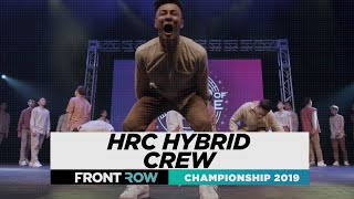 HRC Hybrid Crew | FRONTROW | WORLD Division | World of Dance Championship 2019 | #WODCHAMPS