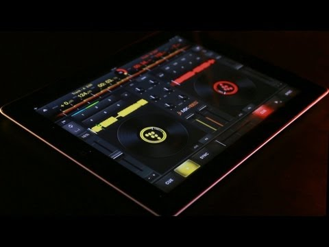 MixVibes CrossDJ for iPad - Introduction