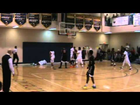 Dalen Traore of Northwood Temple Academy with an emphatic finish and 1 on 1/14/14 vs Neuse!!