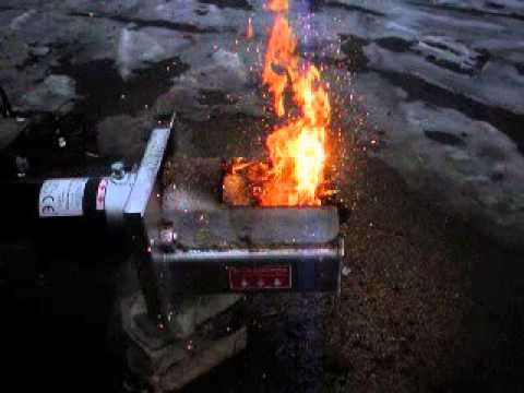 Горелка для сжигания опилок своими руками 661