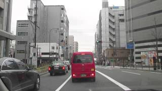 Driving near Kyoto Station