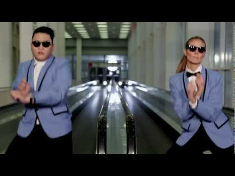 PSY feat. Heidi Klum - Gangnam Style (Extended Version) [HD]