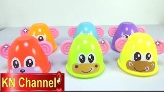 Đồ chơi trẻ em Bé Na Khỉ Con dạy kỹ năng sống Learn color & number with Monkey kid toys