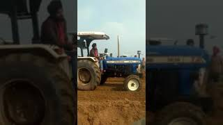 (HFC) New holland 3630 tractor best performance with harrow in Bhundri