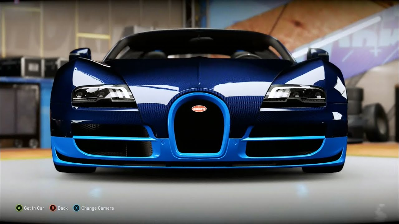forza horizon 2 design 8 bugatti veyron vitesse replica youtube. Black Bedroom Furniture Sets. Home Design Ideas