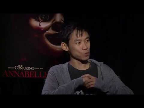 James Wan and John Leonetti on creating the horrifying 'Annabelle' doll