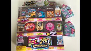 Shopkins Collectors Edition Mini Packs & Happy Places Rainbow Beach Blind Bags Unboxing!