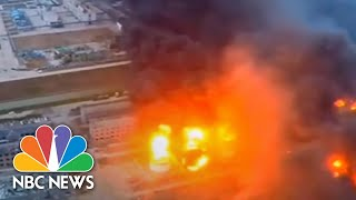 Deadly Blast Rips Through Chemical Plant In China | NBC News