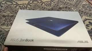 Asus zenbook 13 Ux331ual unboxing