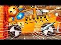 КРАШ ТЕСТ МОНСТР ТРАК и АНТИСТРЕСС #49 Проверка Бадди на прочность газонокосилкой и вертолетам
