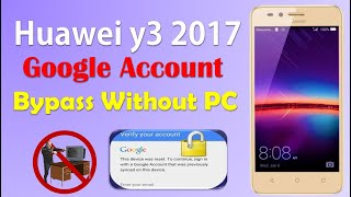 huawei y3 cro-u00 bypass gmail account done 100%